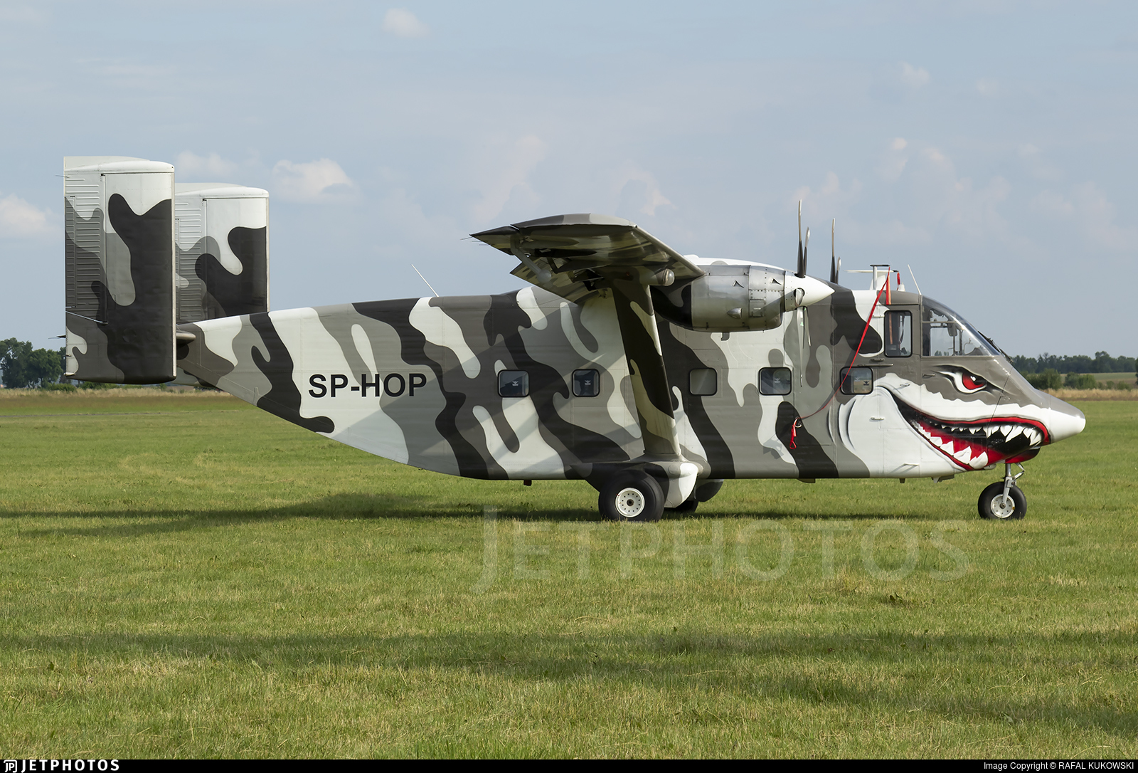 SP-HOP - Short SC-7 Skyvan - Private