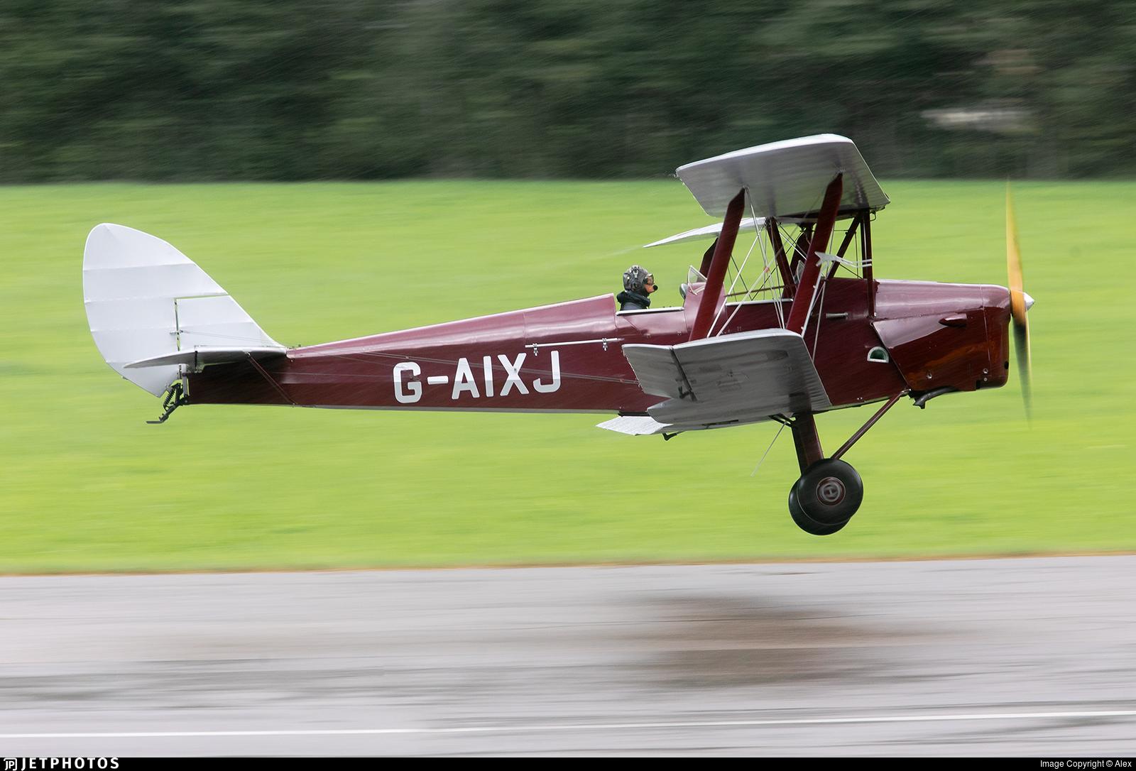 G-AIXJ - De Havilland DH-82A Tiger Moth - Private
