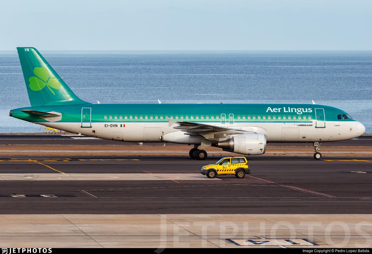 EI-DVN - Airbus A320-214 - Aer Lingus