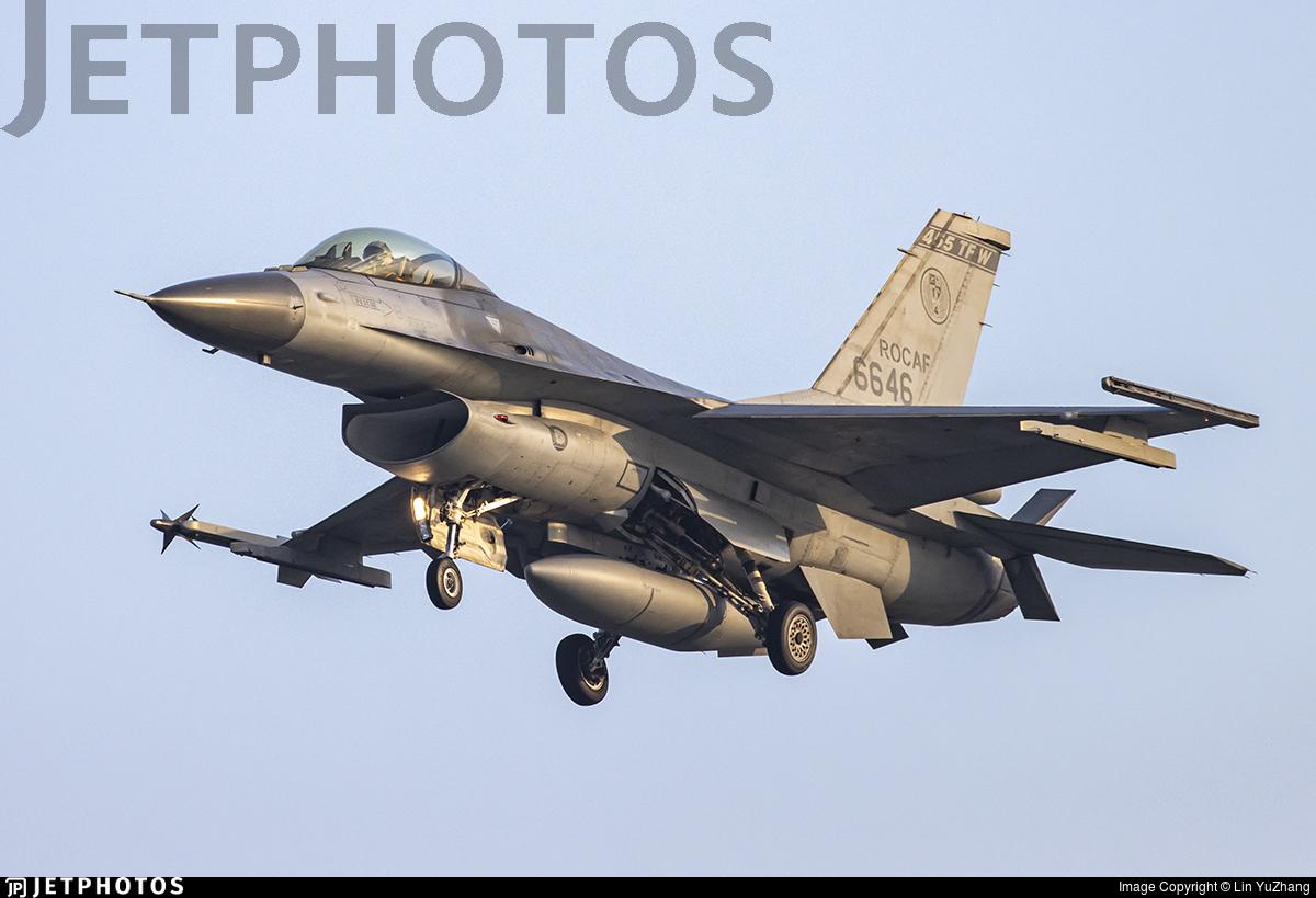6646 - General Dynamics F-16A Fighting Falcon - Taiwan - Air Force