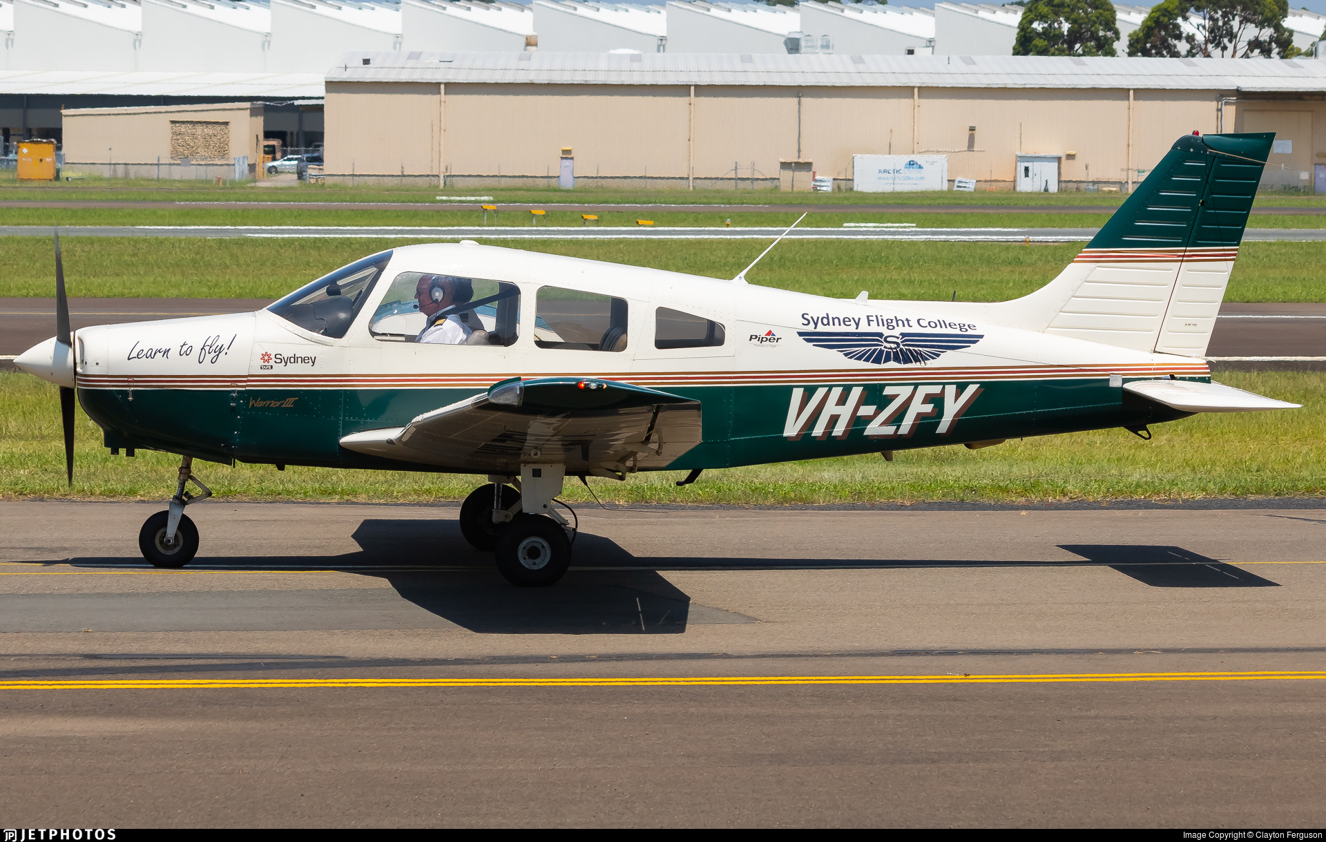 VH-ZFY - Piper PA-28-161 Warrior III - Schofields Flying Club
