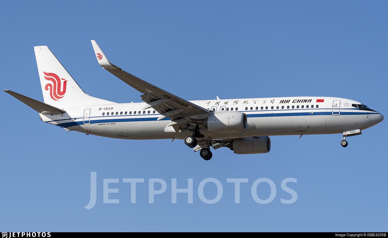 B-1529 - Boeing 737-89L - Air China