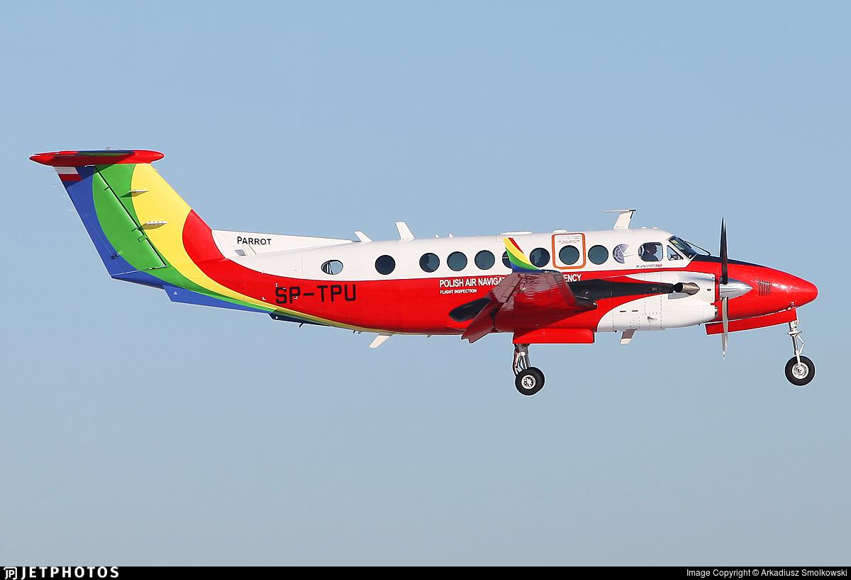 SP-TPU - Beechcraft B300 King Air 350i - Poland - Air Navigation Services Agency (PANSA)