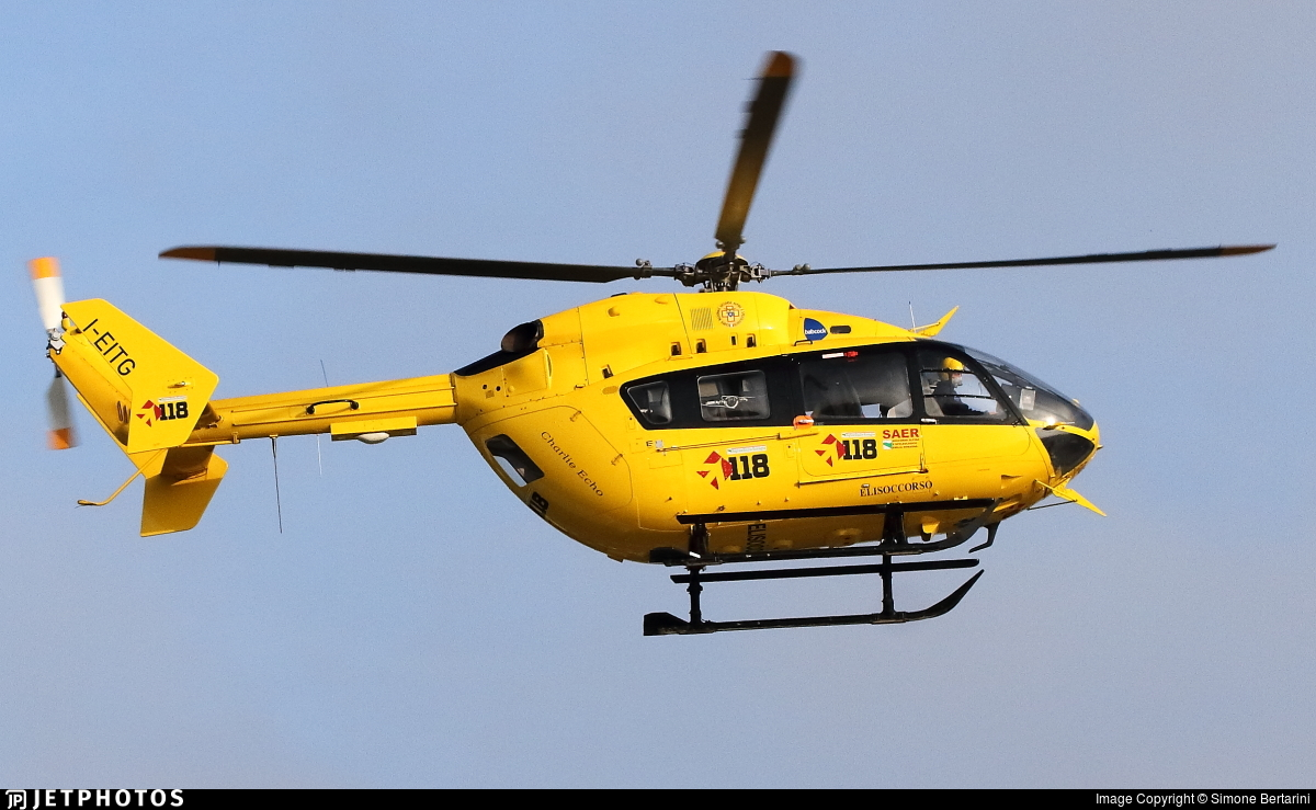 I-EITG - Eurocopter EC 145 - Babcock MCS Italia