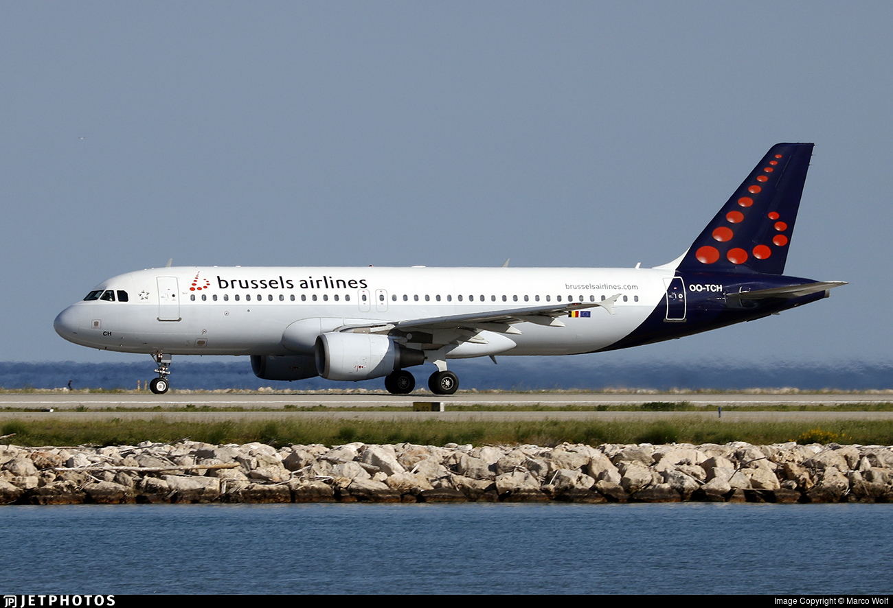 OO-TCH - Airbus A320-214 - Brussels Airlines