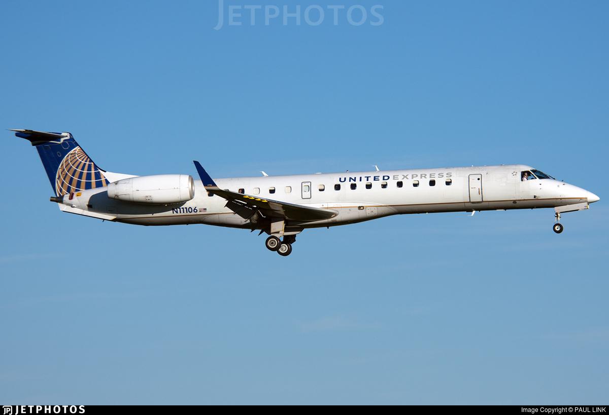 N11106 - Embraer ERJ-145XR - United Express (Trans States Airlines)