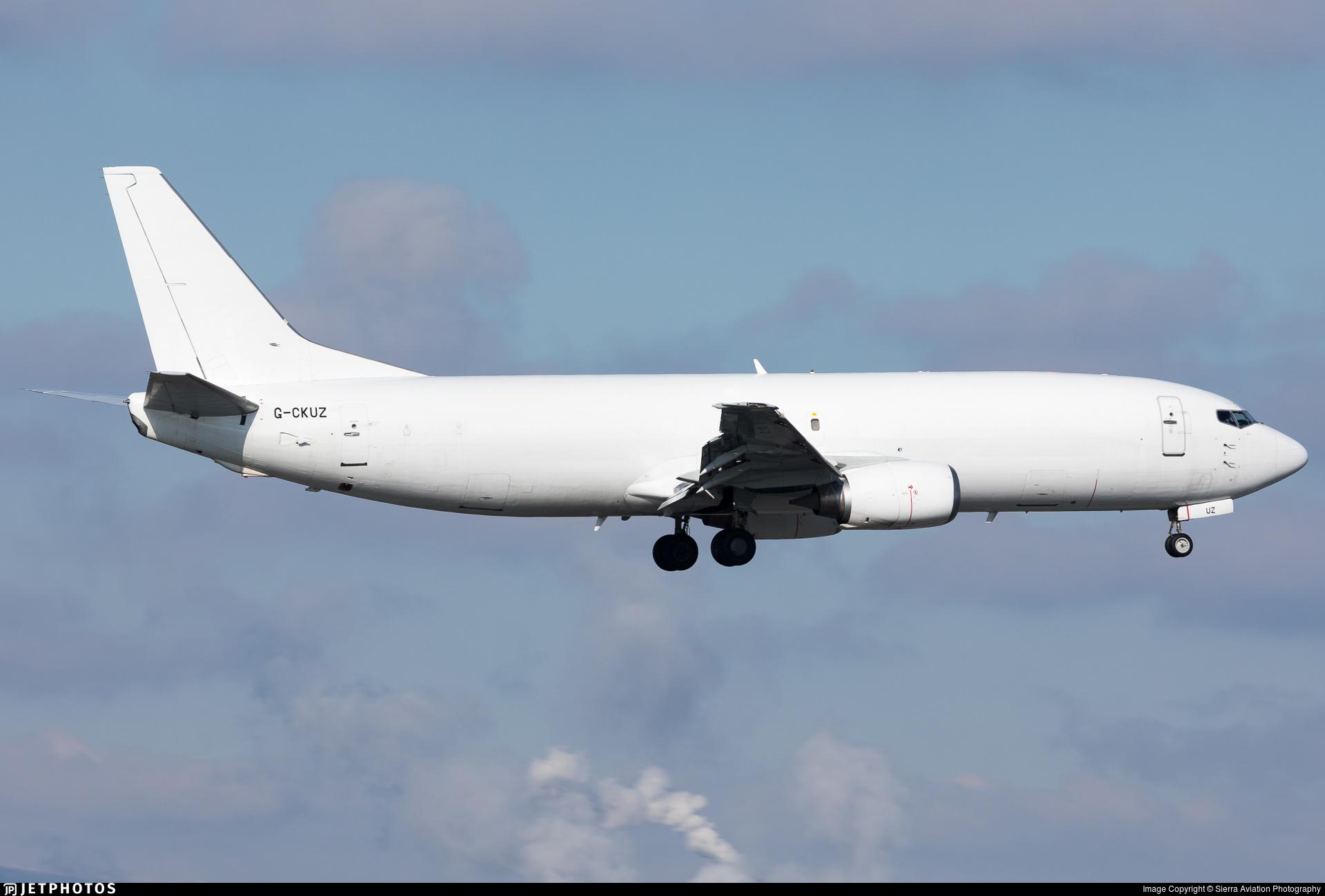 G-CKUZ - Boeing 737-46J(SF) - West Atlantic Airlines