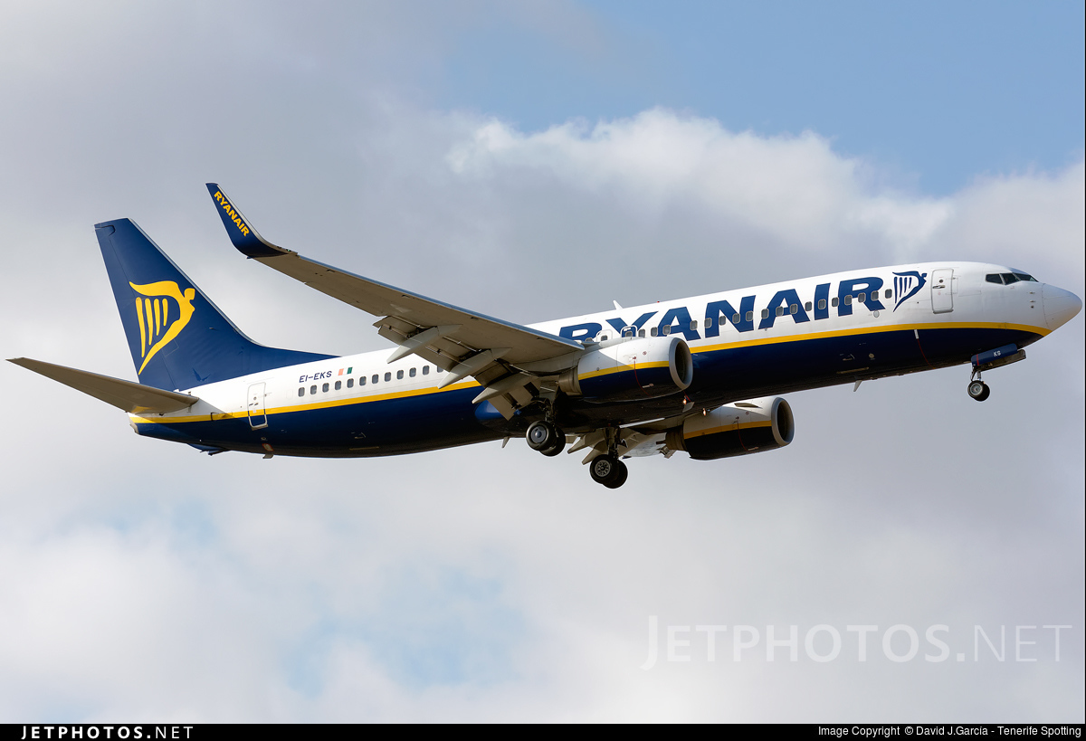 EI-EKS - Boeing 737-8AS - Ryanair