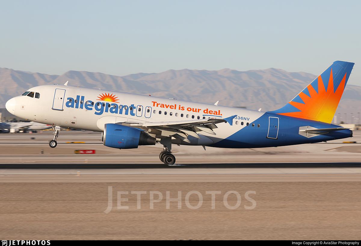N336NV - Airbus A319-111 - Allegiant Air