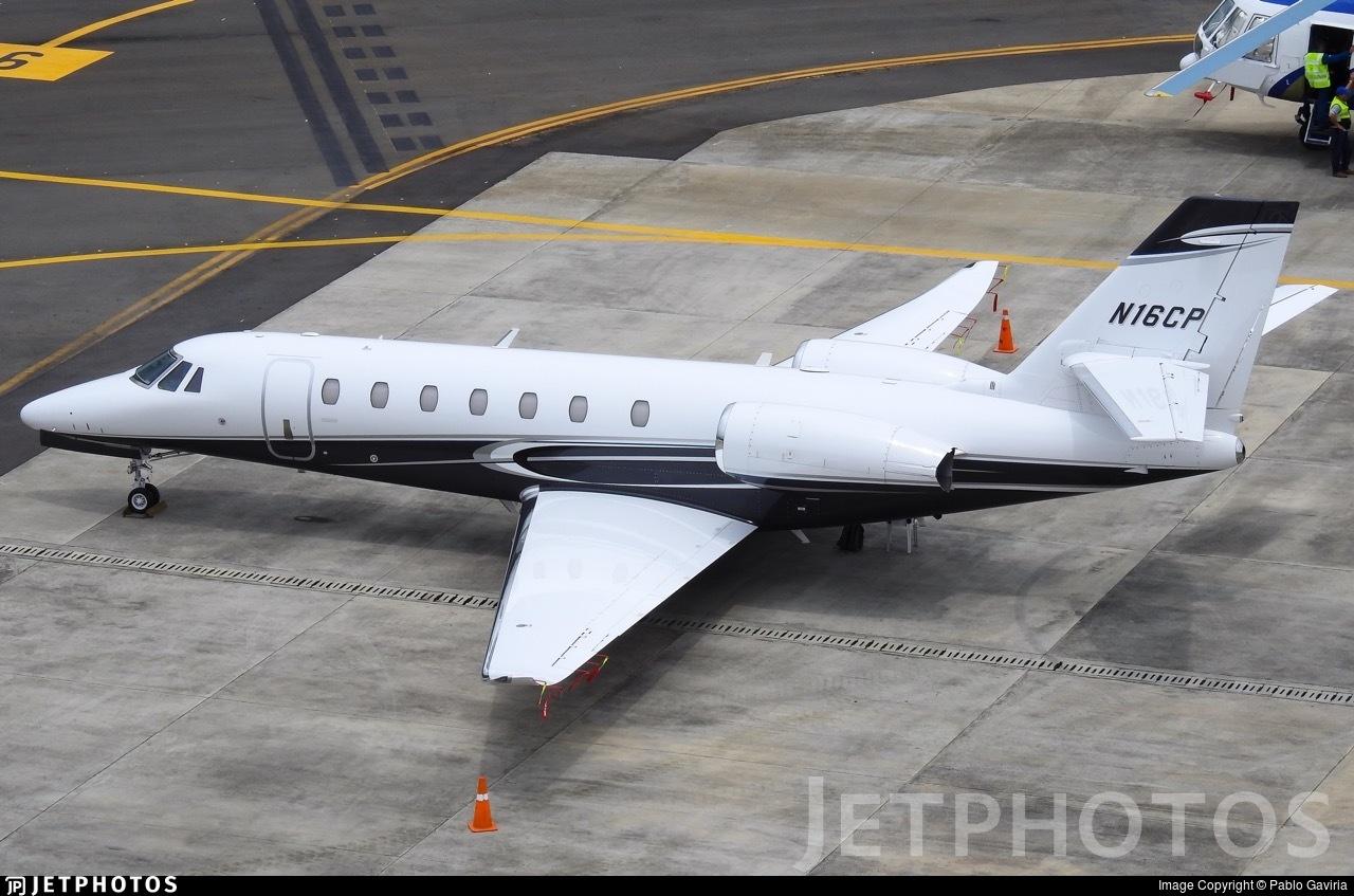 N16CP - Cessna 680 Citation Sovereign Plus - Private