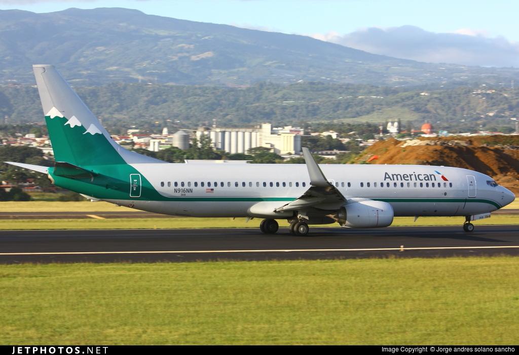 N916NN - Boeing 737-823 - American Airlines