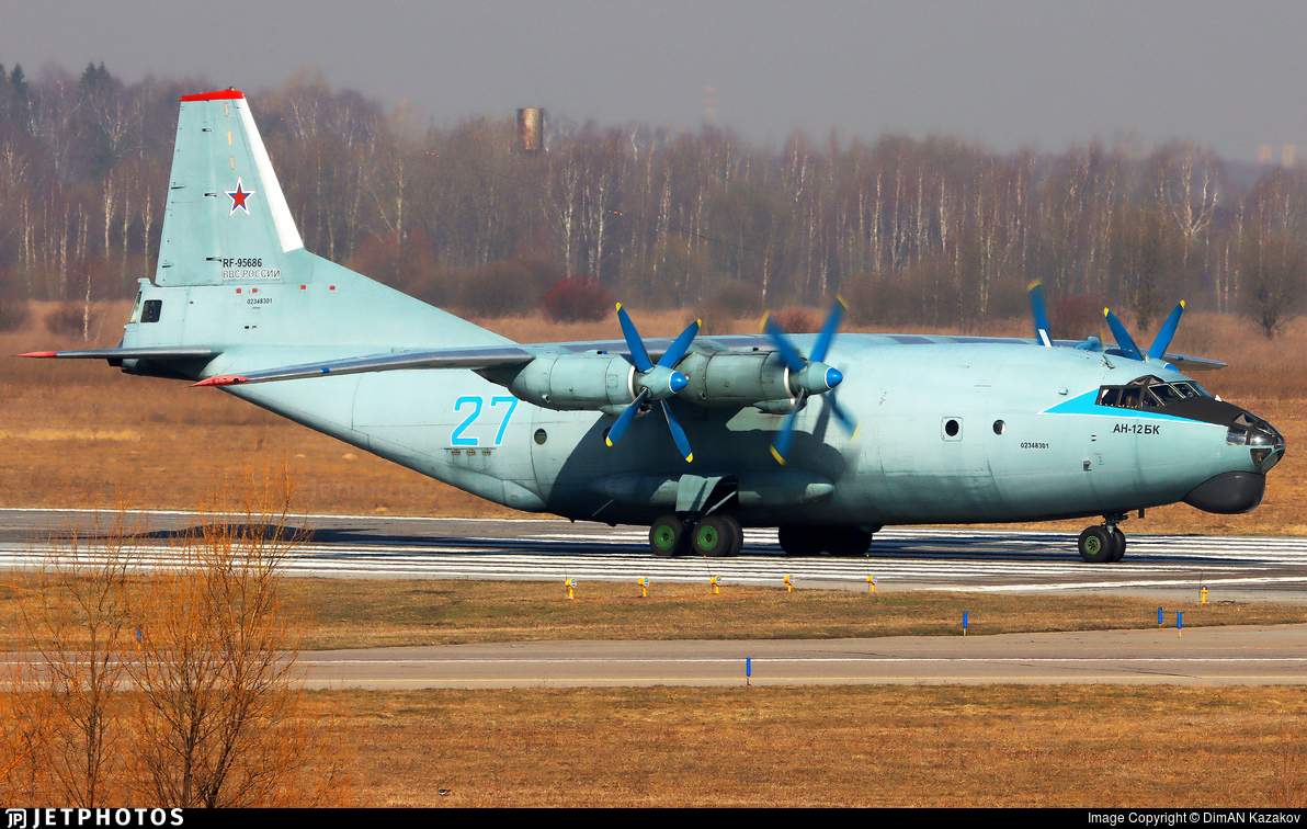 RF-95686 - Antonov An-12BK - Russia - Air Force