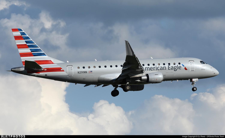 N291NN - Embraer 170-200LR - American Eagle (Envoy Air)