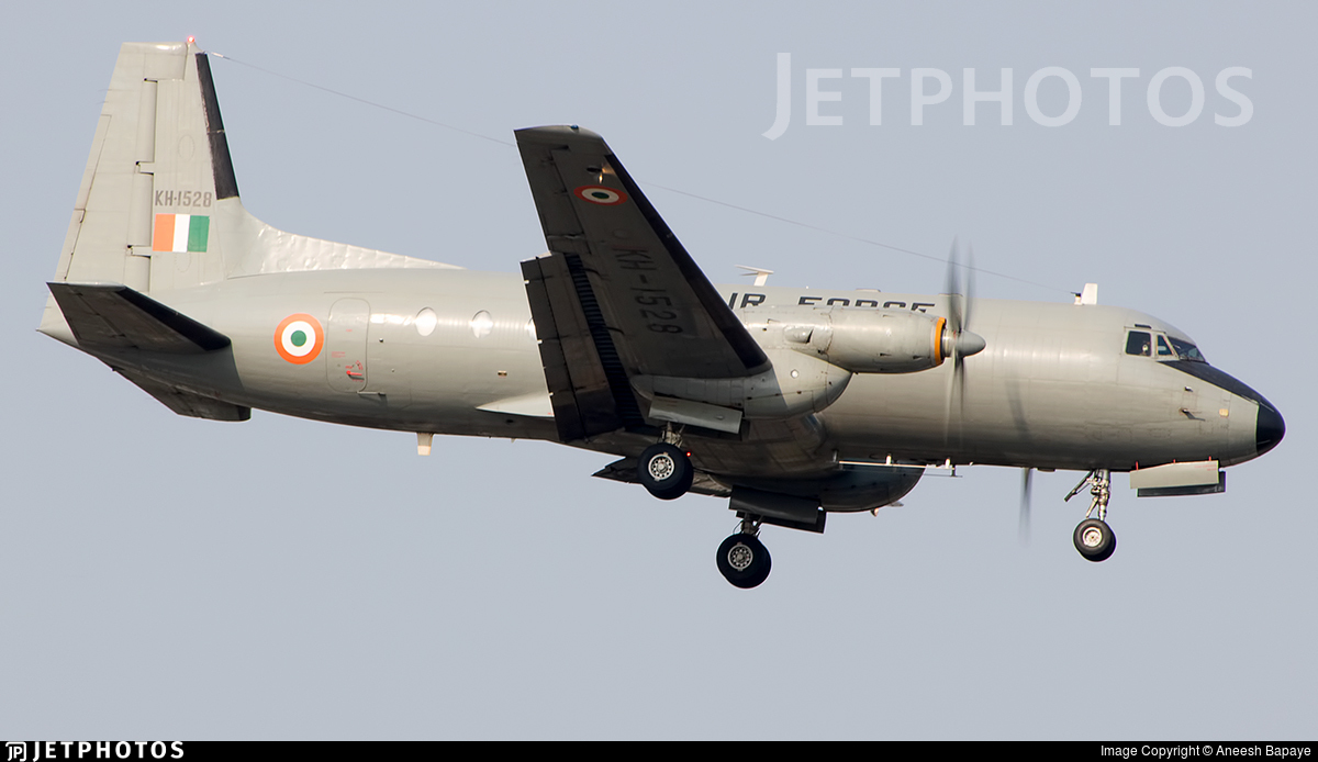 KH-1528 - Hindustan Aeronautics HAL-748 - India - Air Force