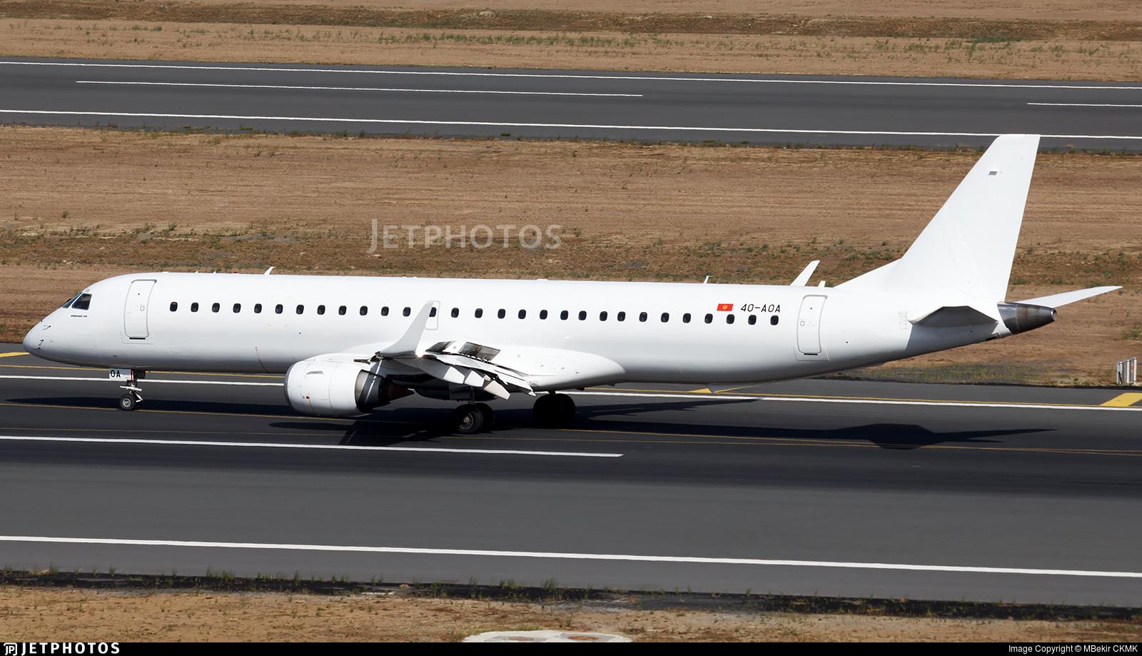 4O-AOA - Embraer 190-200LR - Air Montenegro