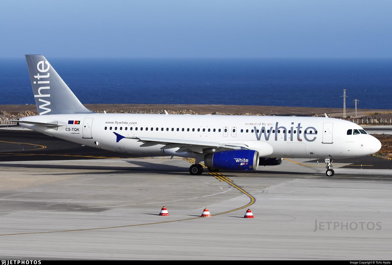 CS-TQK - Airbus A320-232 - White Airways