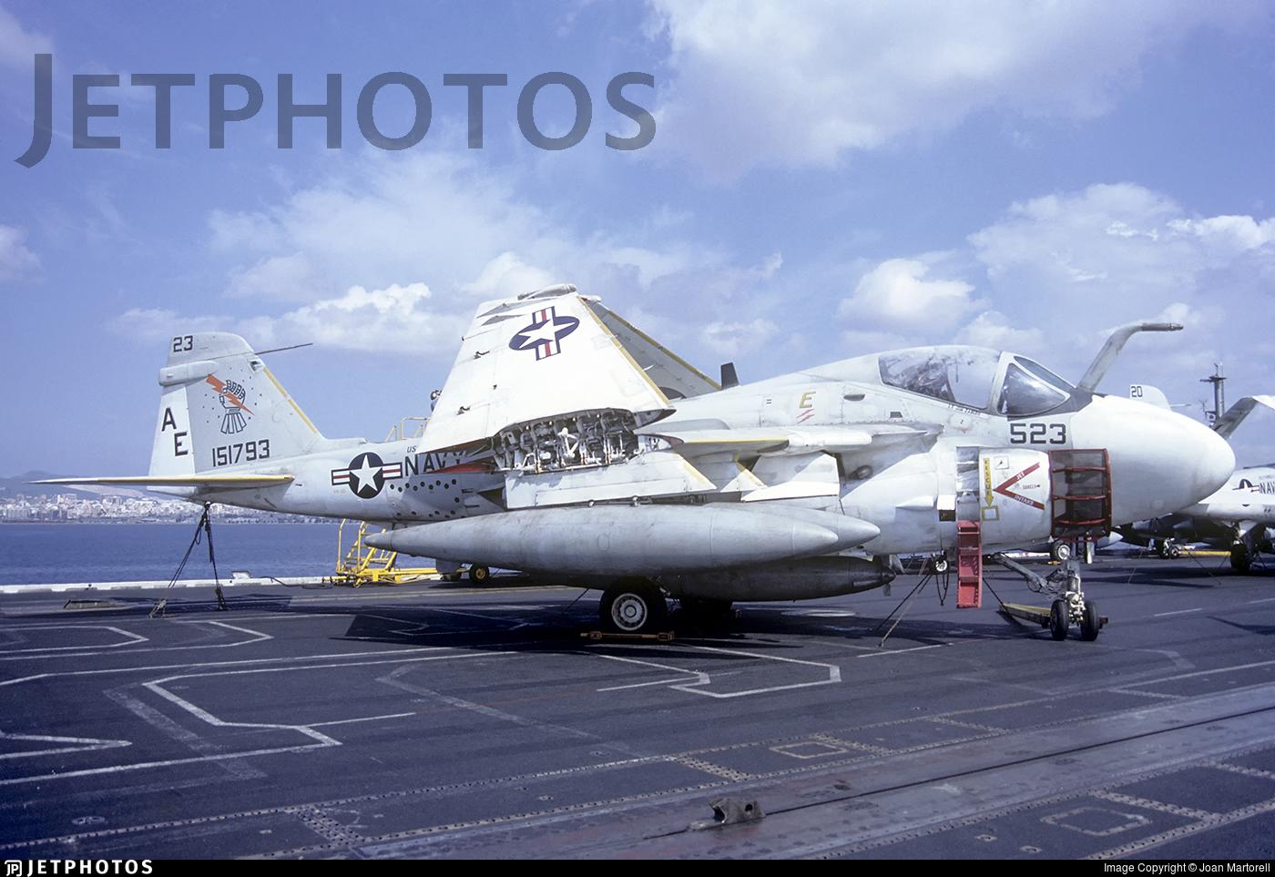 151793 - Grumman KA-6D Intruder - United States - US Navy (USN)