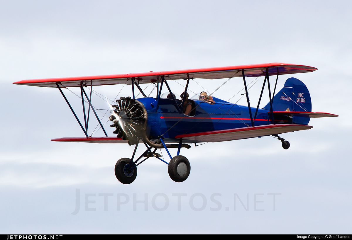N9188 - Curtiss-Wright Travel Air 4000 - Private