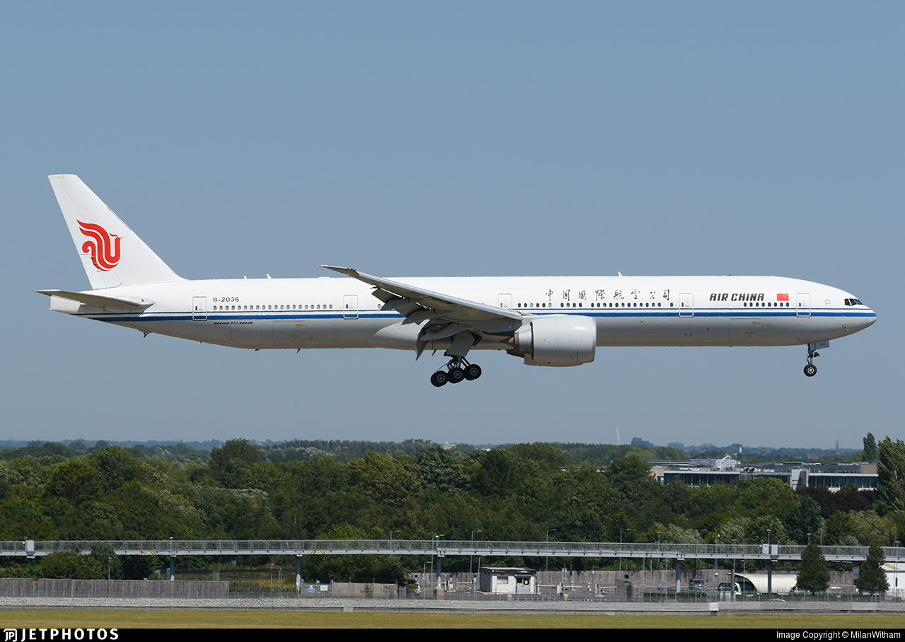 B-2036 - Boeing 777-39LER - Air China