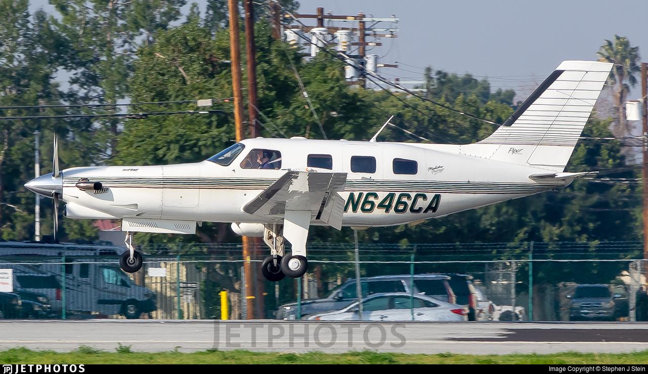 N646CA - Piper PA-46-350P Malibu Mirage - Private
