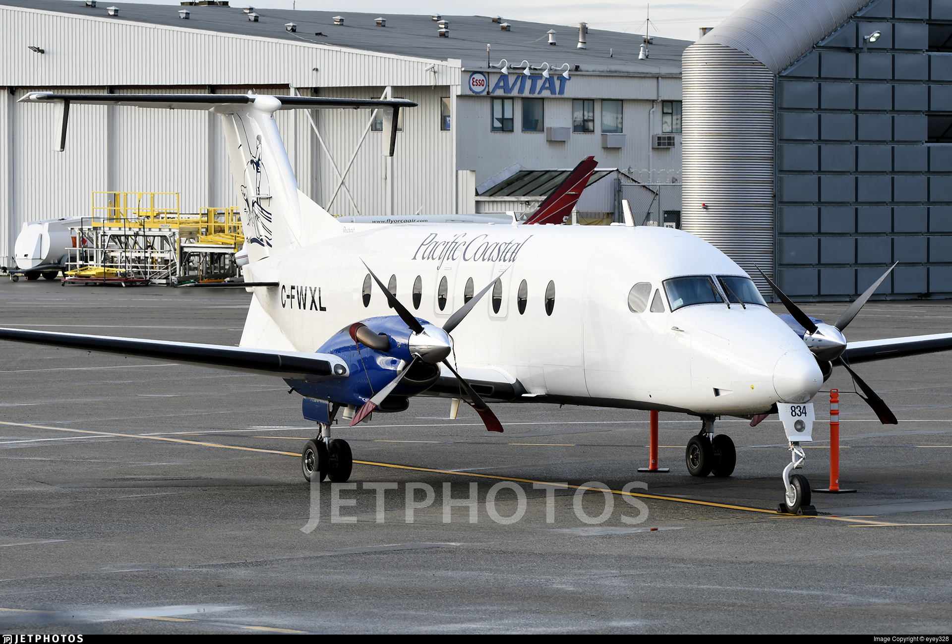 C-FWXL - Beech 1900D - Pacific Coastal Airlines