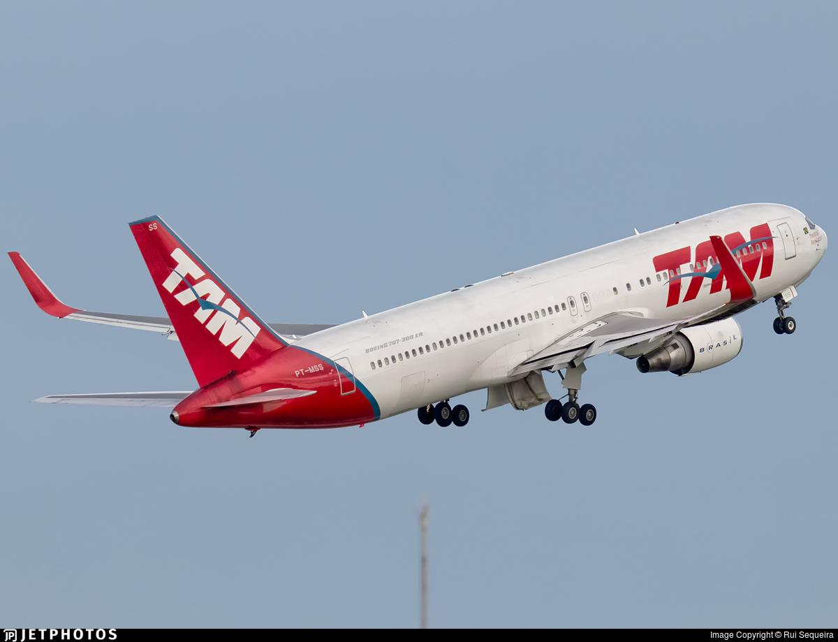 PT-MSS - Boeing 767-316(ER) - TAM Linhas Aéreas