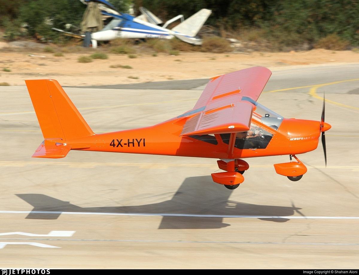 4X-HYI - Aeroprakt A-32 - Private