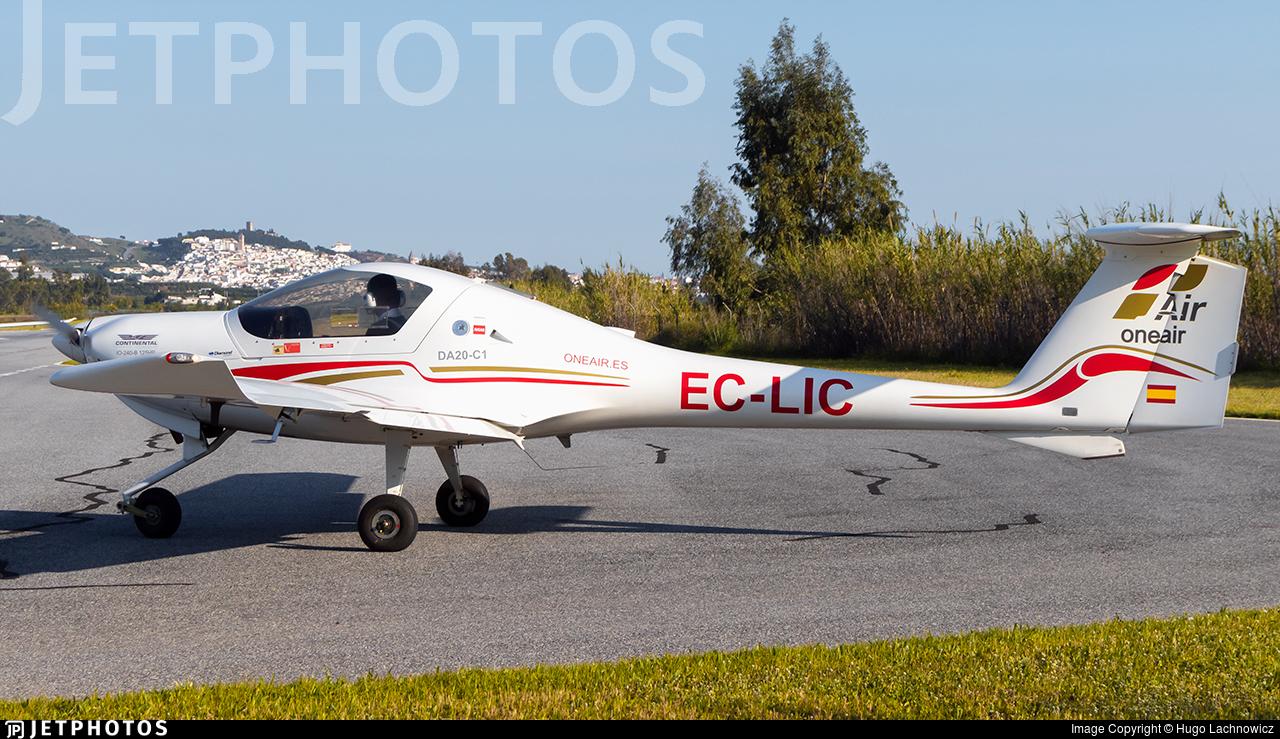 EC-LIC - Diamond DA-20-C1 Evolution - One Air Aviacion