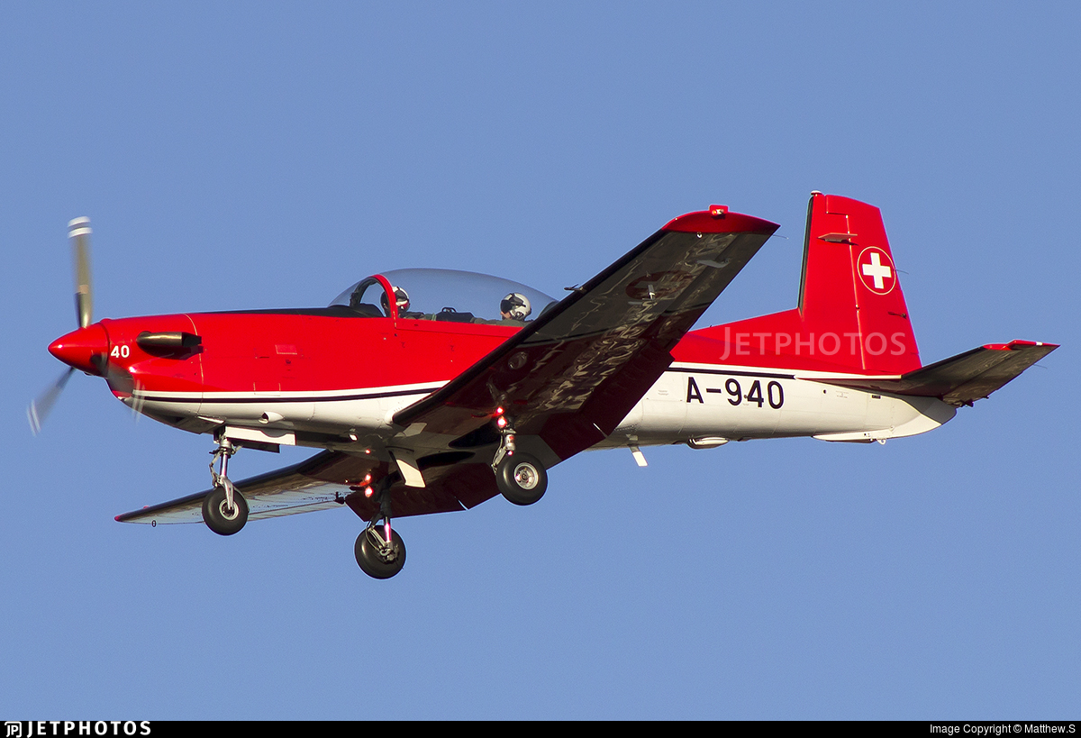 A-940 - Pilatus PC-7 - Switzerland - Air Force