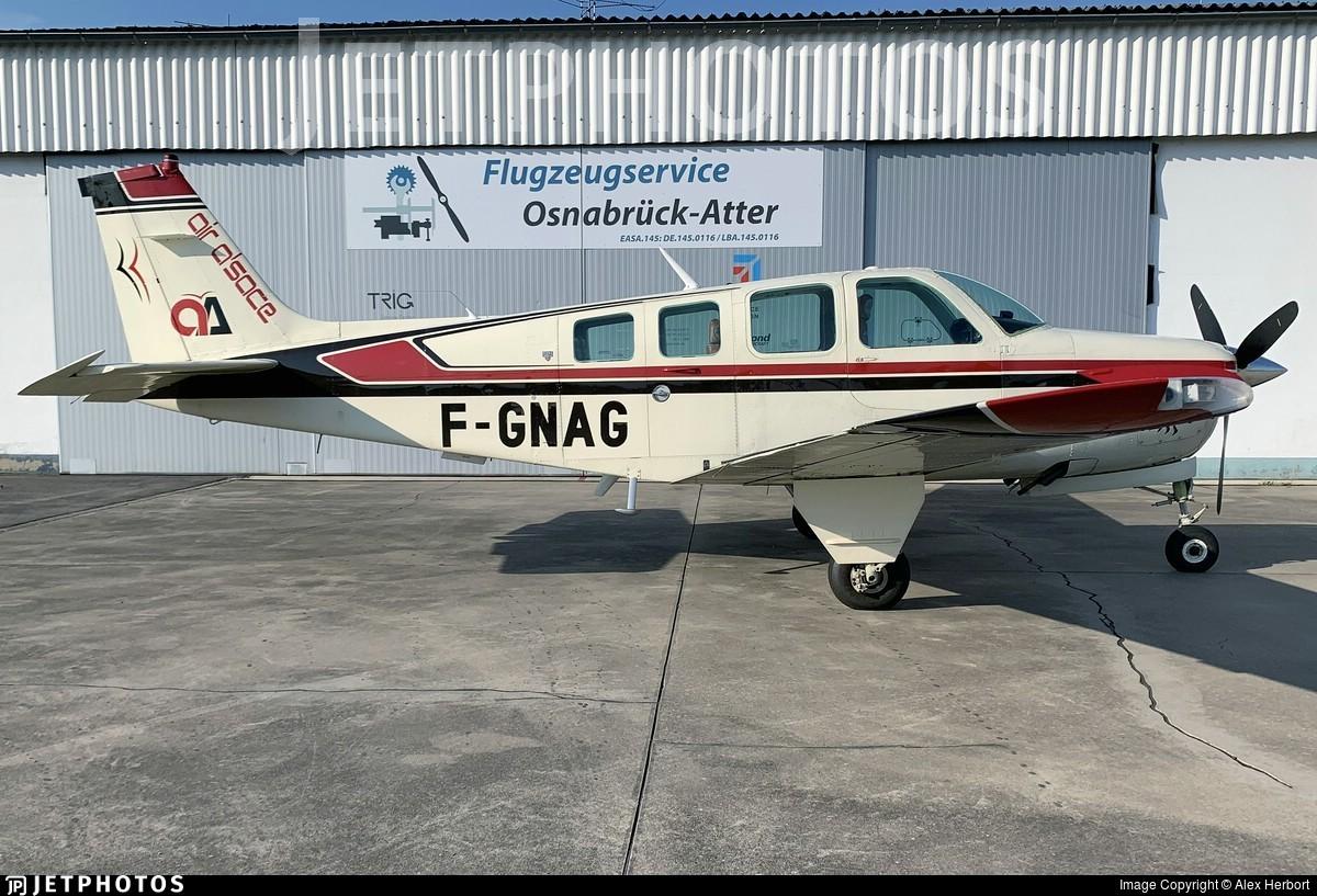 F-GNAG - Beechcraft A36 Bonanza - Private