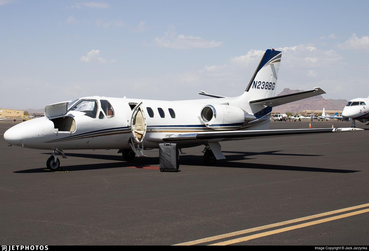 N238BG - Cessna 501 Citation - Private