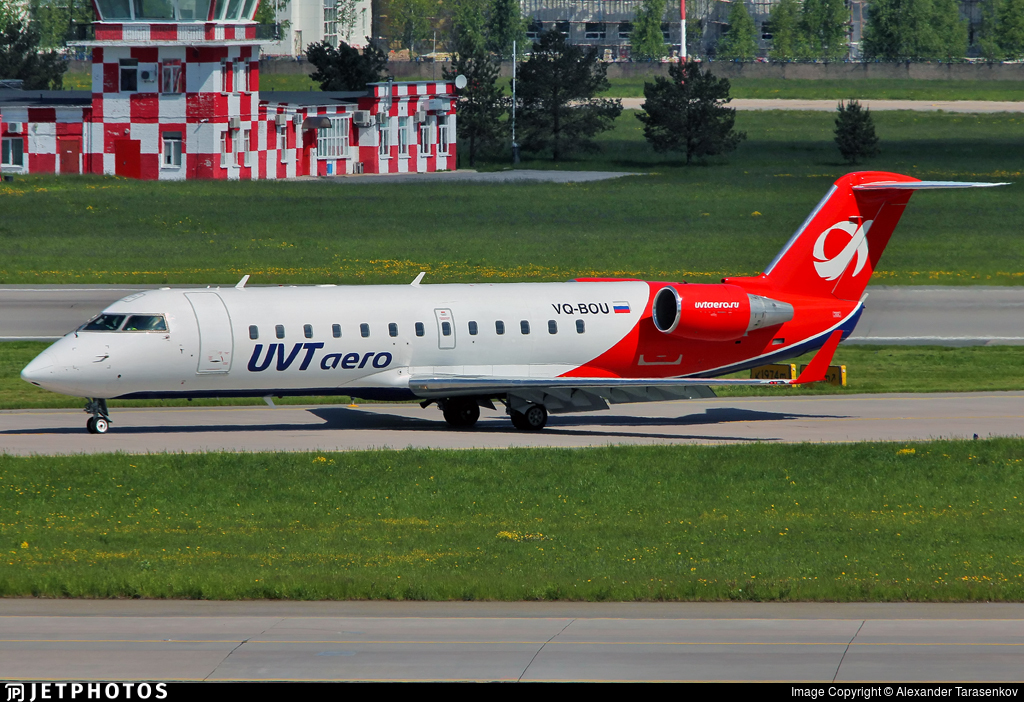 VQ-BOU - Bombardier CRJ-200ER - UVT Aero