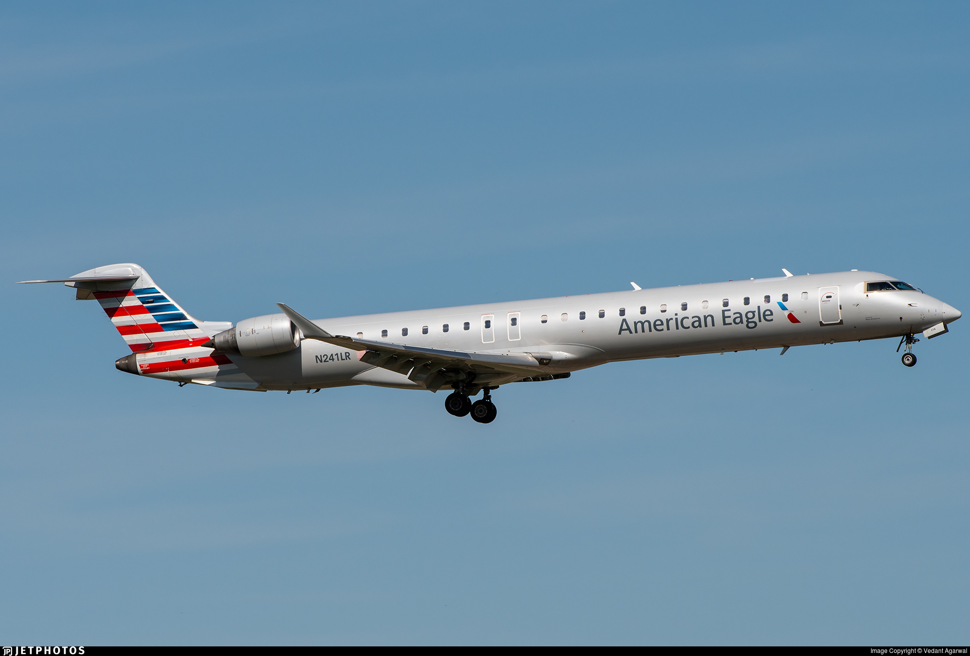 N241LR - Bombardier CRJ-900ER - American Eagle (Mesa Airlines)