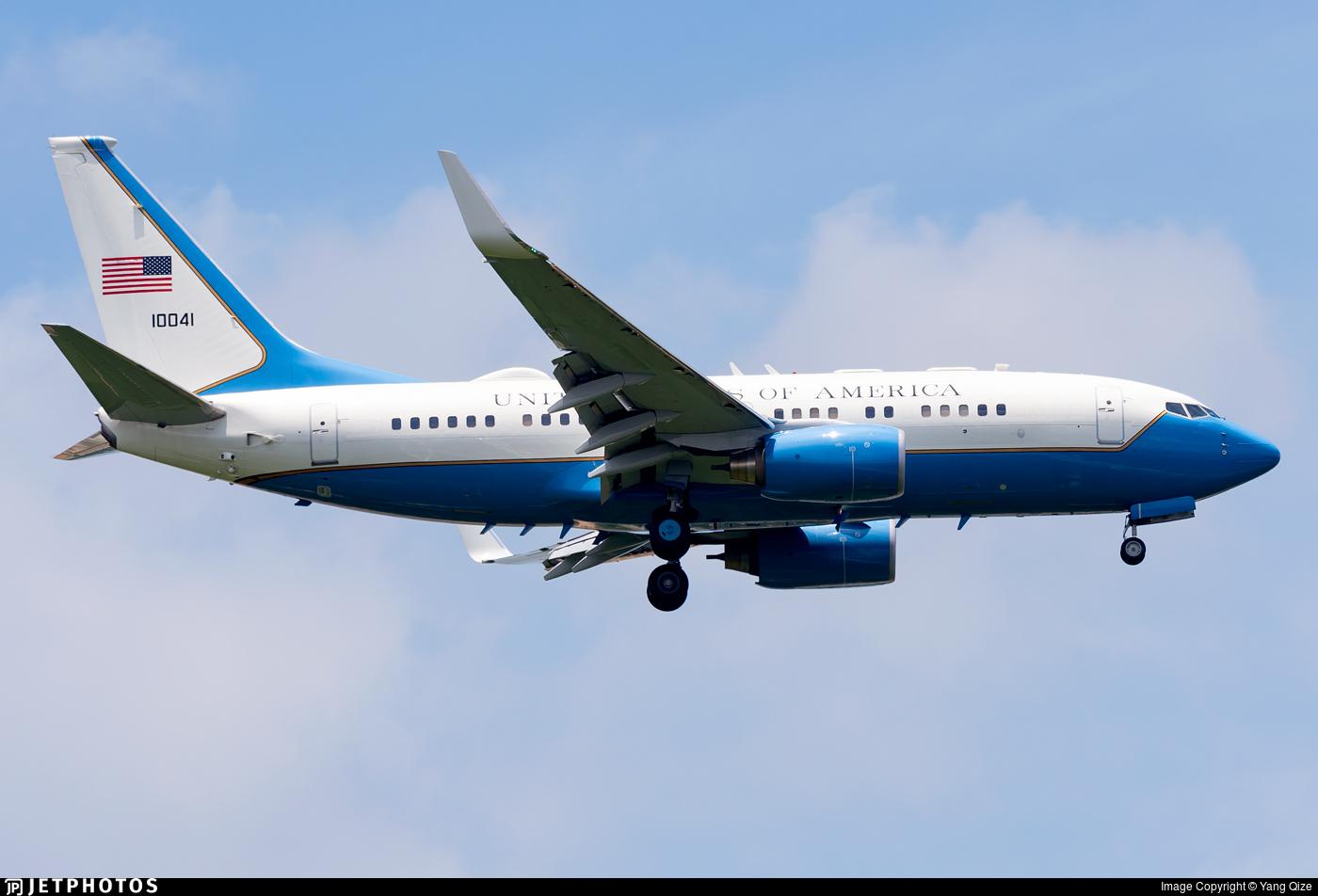 01-0041 - Boeing C-40B - United States - US Air Force (USAF)