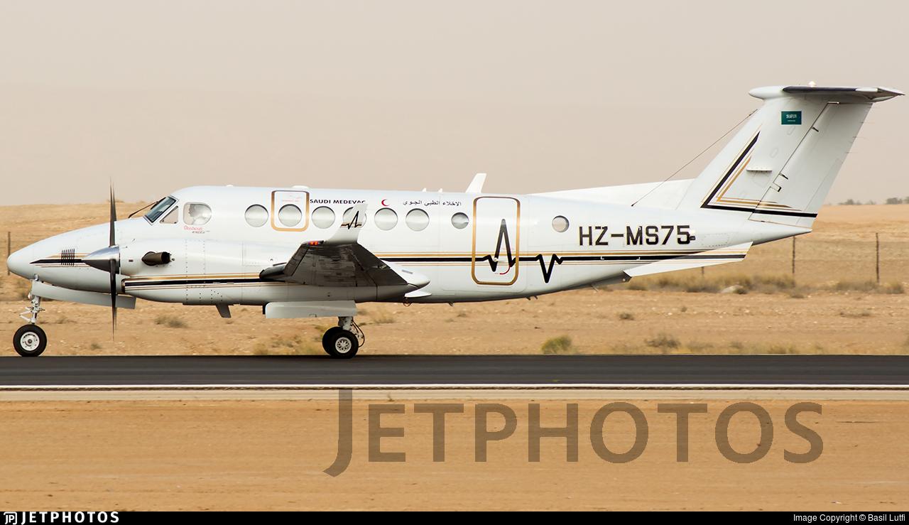 HZ-MS75 - Beechcraft B300C King Air 350C - Saudi Arabia - Aeromedical Evacuation
