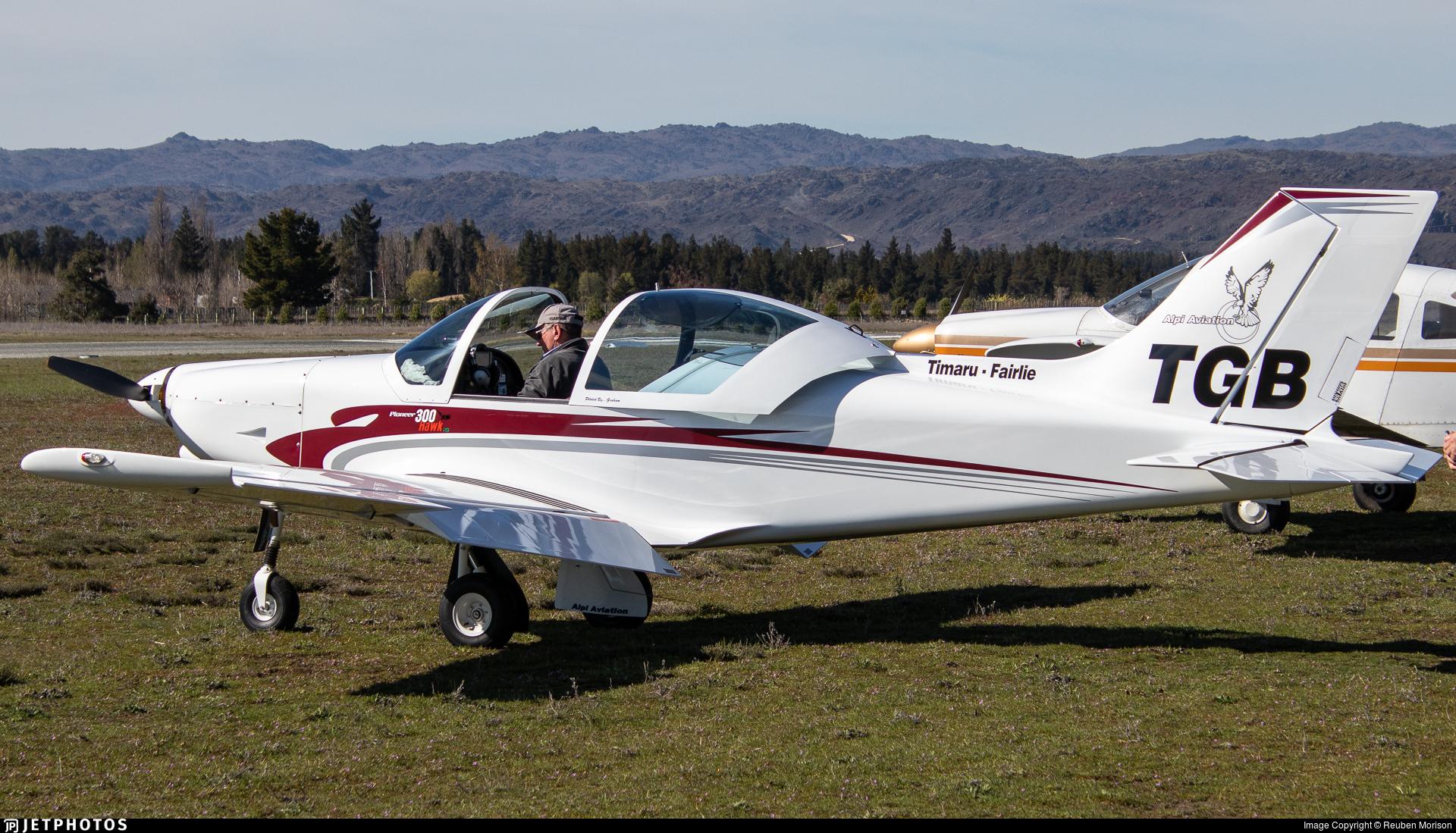 ZK-TGB - Alpi Pioneer 300 Hawk - Private