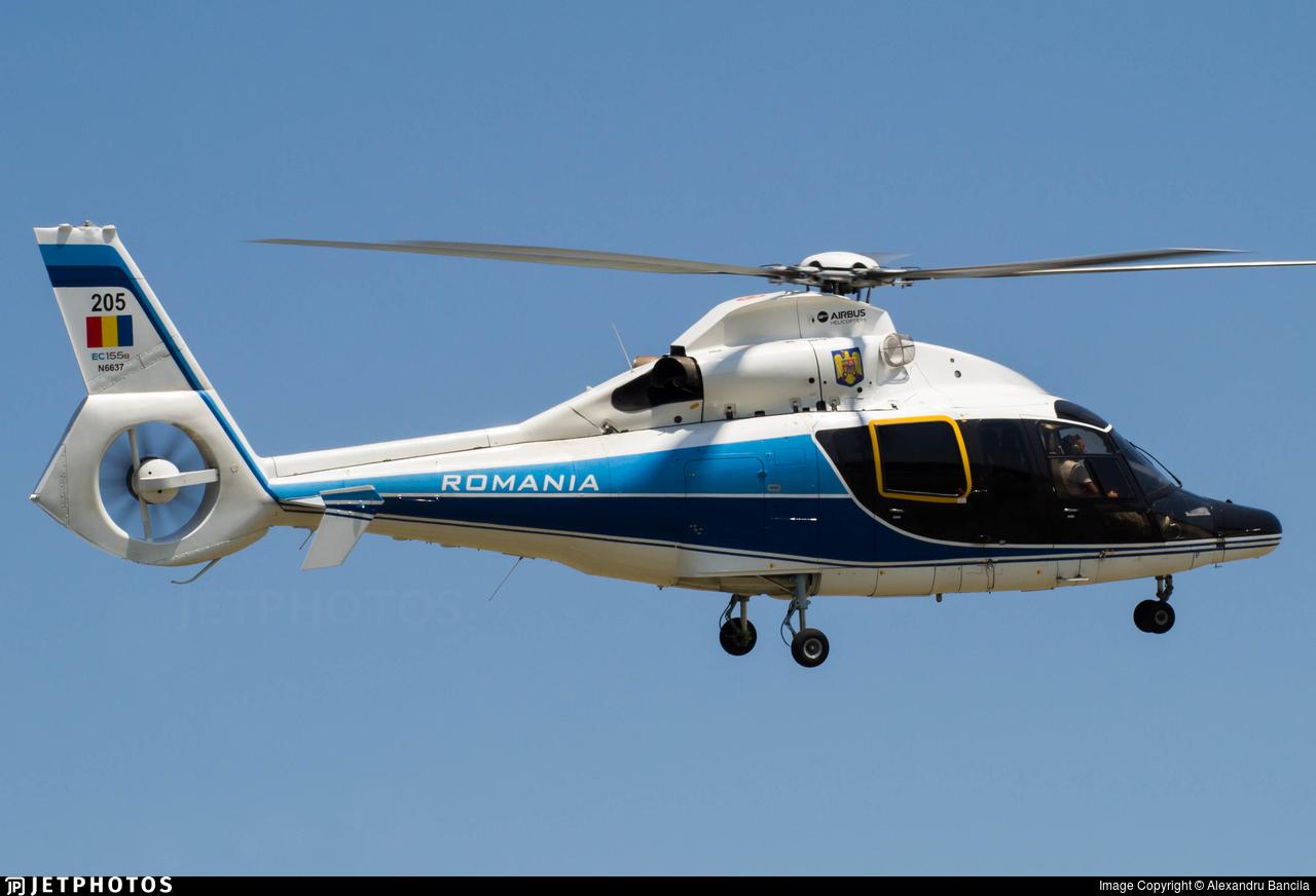 205 - Eurocopter EC 155B - Romania - Serviciul Roman de Informatii