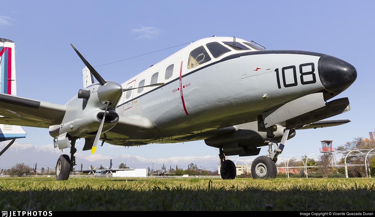 108 - Embraer EMB-110 Bandeirante - Chile - Navy