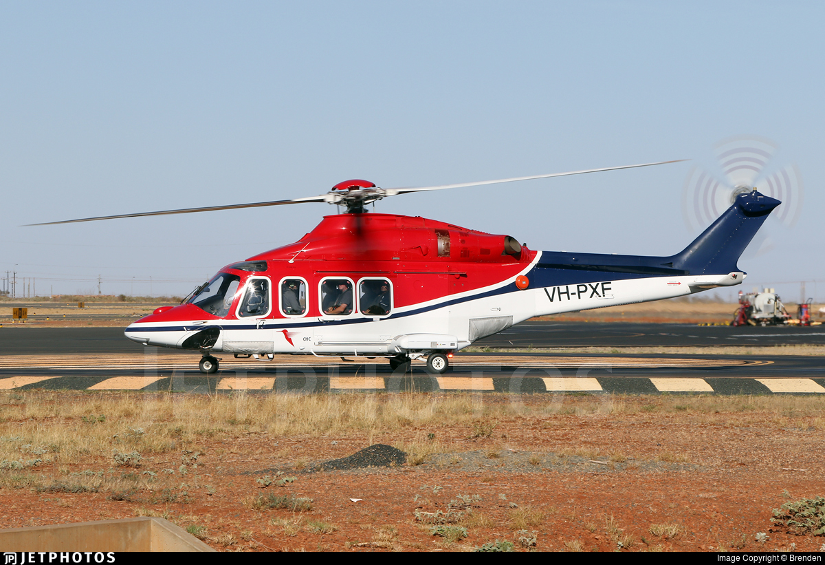 VH-PXF - Agusta-Westland AW-139 - CHC Helicopters