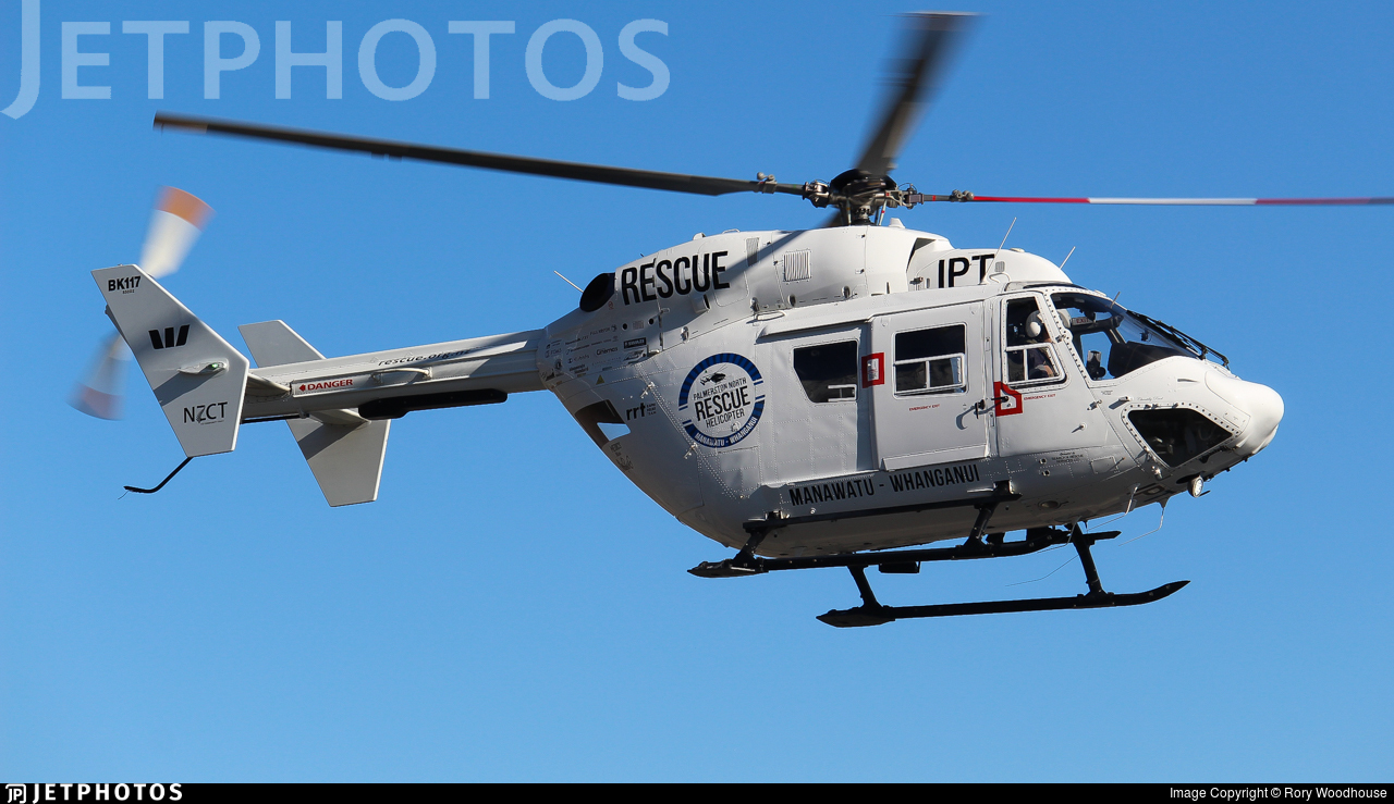 ZK-IPT - MBB-Kawasaki BK117B-2 - Palmerston North Rescue Helicopter