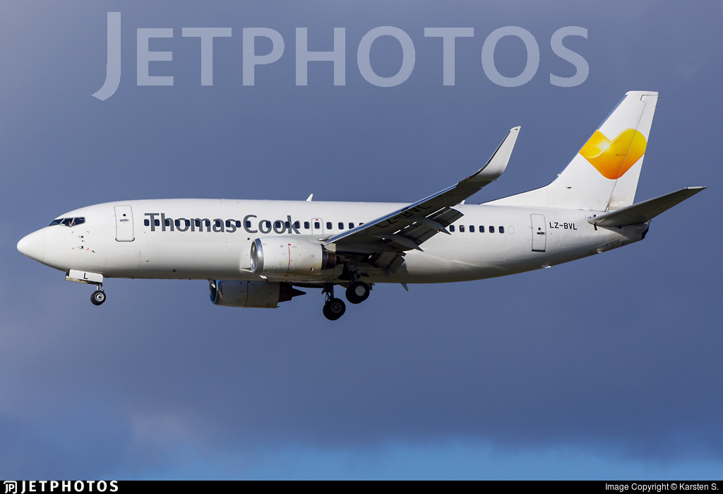 LZ-BVL - Boeing 737-33S - Thomas Cook Airlines (Bul Air)