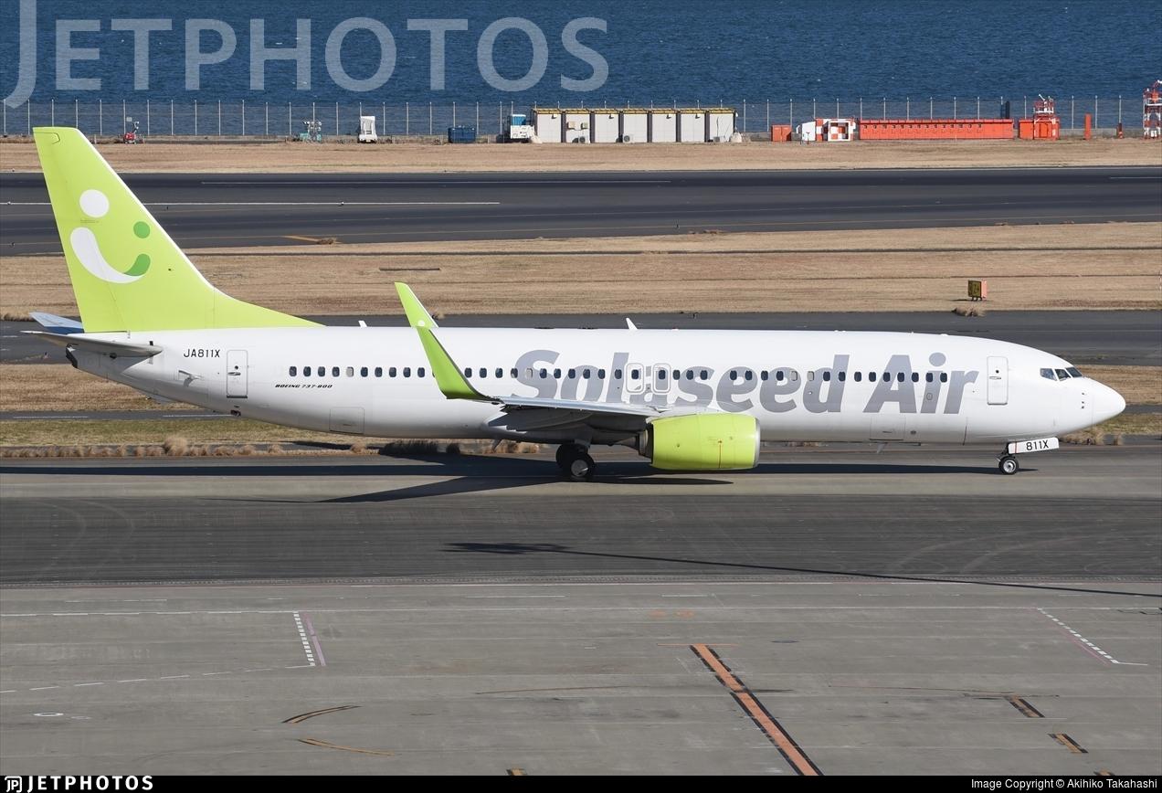 JA811X - Boeing 737-86N - Solaseed Air