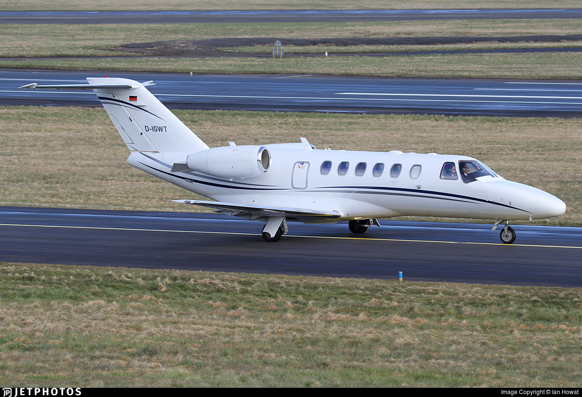 D-IGWT - Cessna 525A CitationJet 2 Plus - Sylt Air