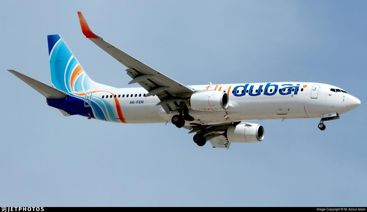 A6-FEN - Boeing 737-8KN - flydubai