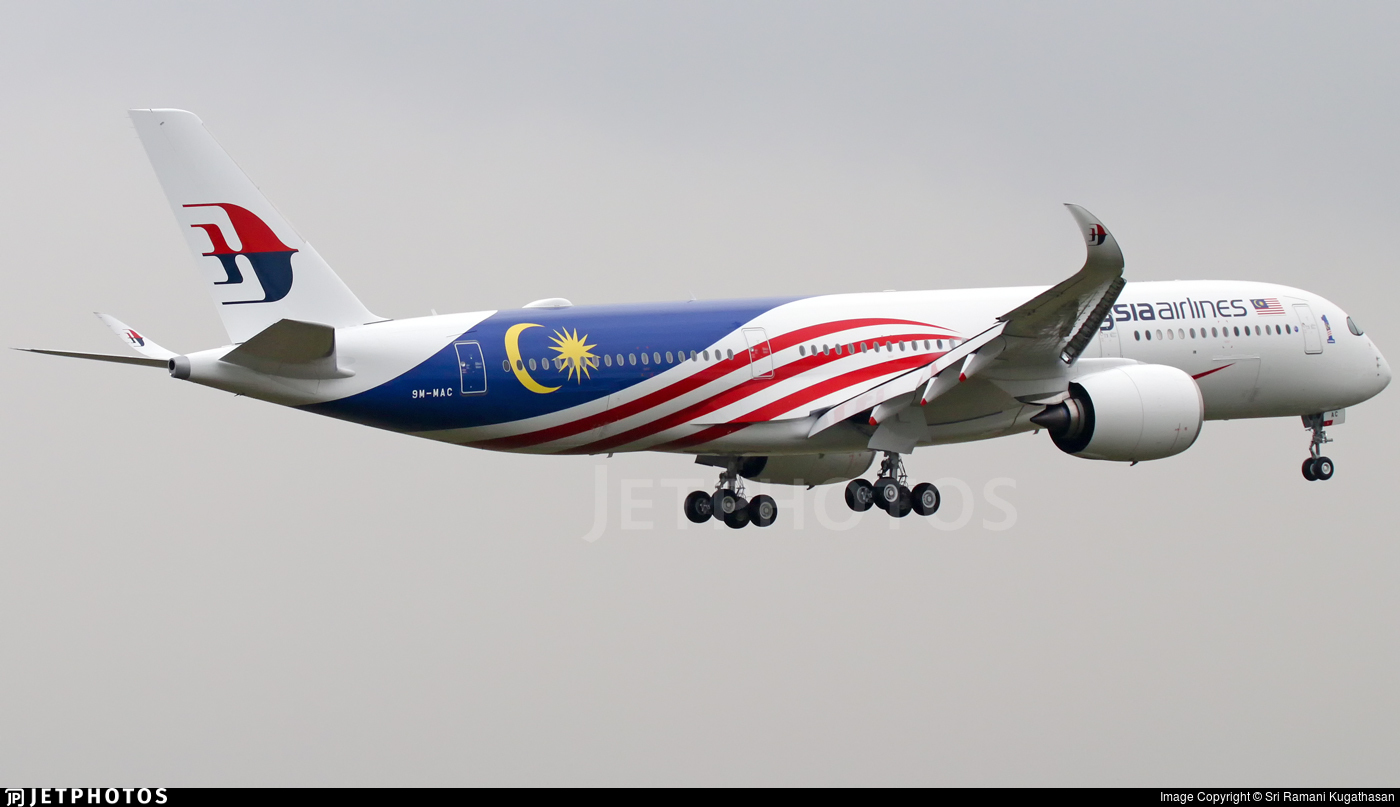 9M-MAC - Airbus A350-941 - Malaysia Airlines