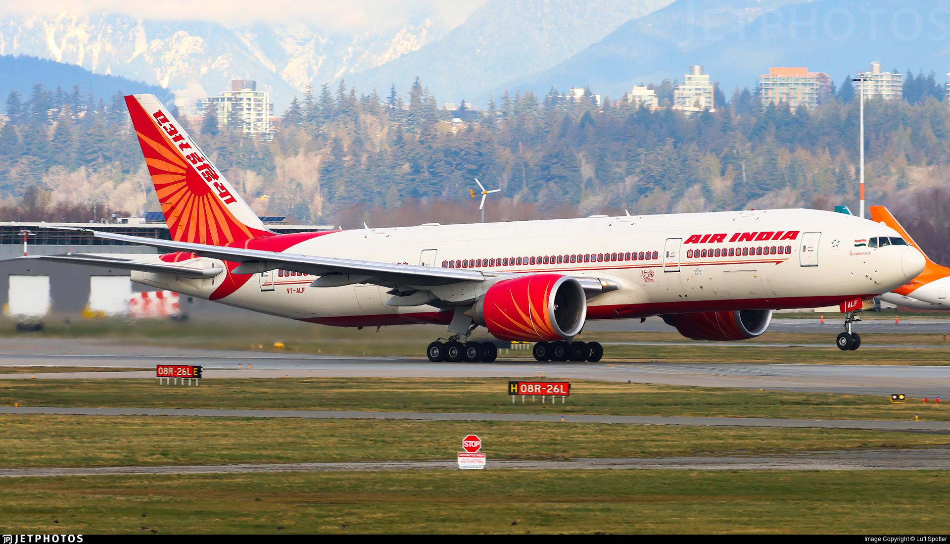 VT-ALF - Boeing 777-237LR - Air India