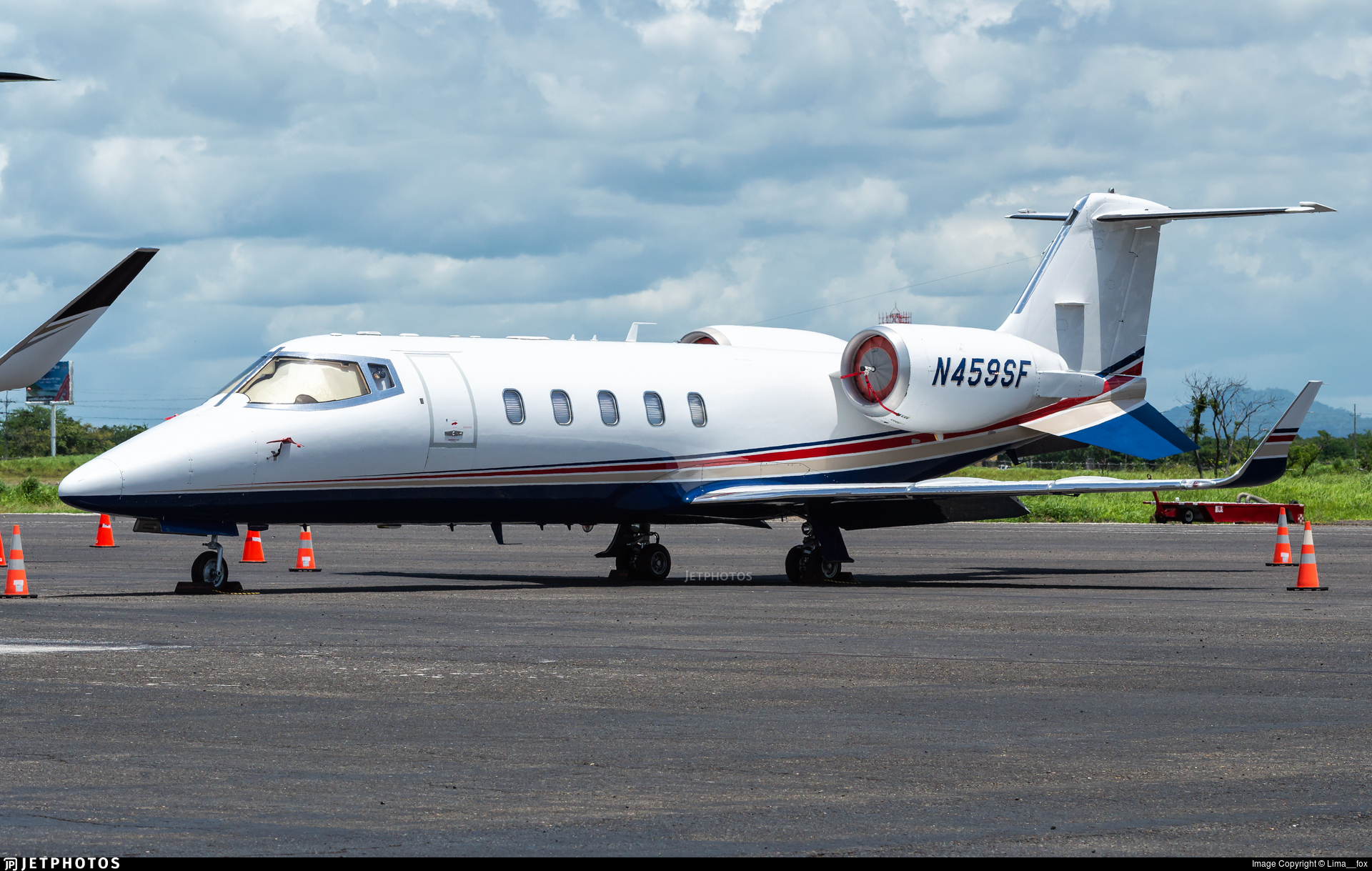 N459SF - Bombardier Learjet 60 - Private