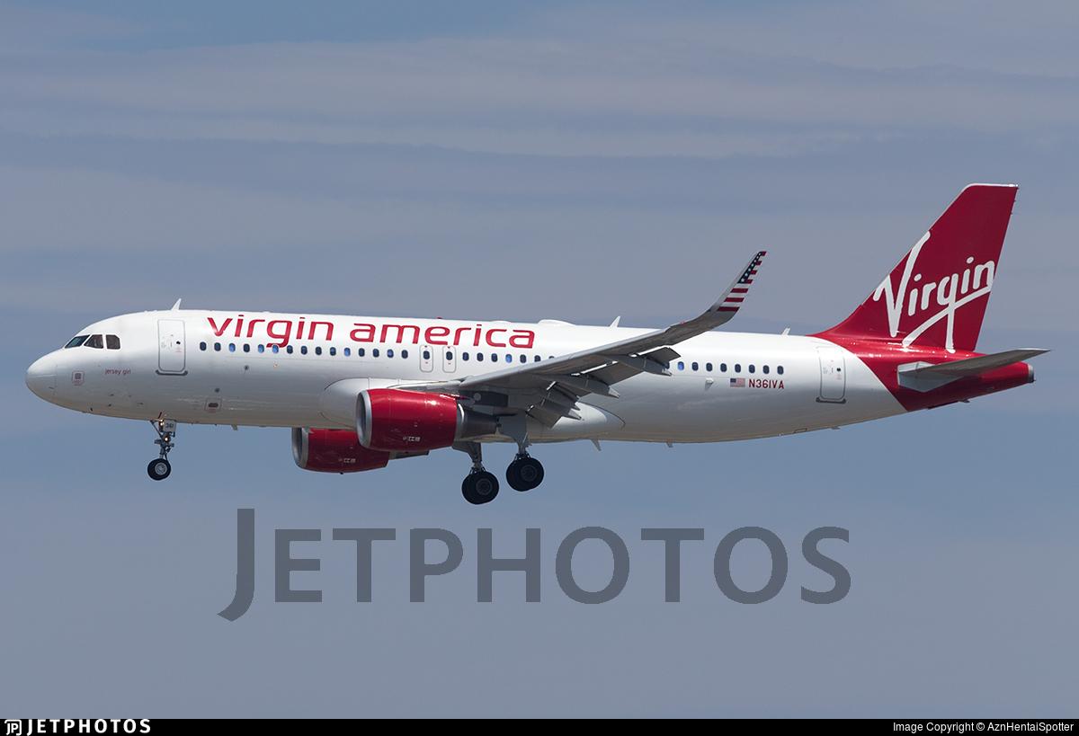 N361VA - Airbus A320-214 - Virgin America