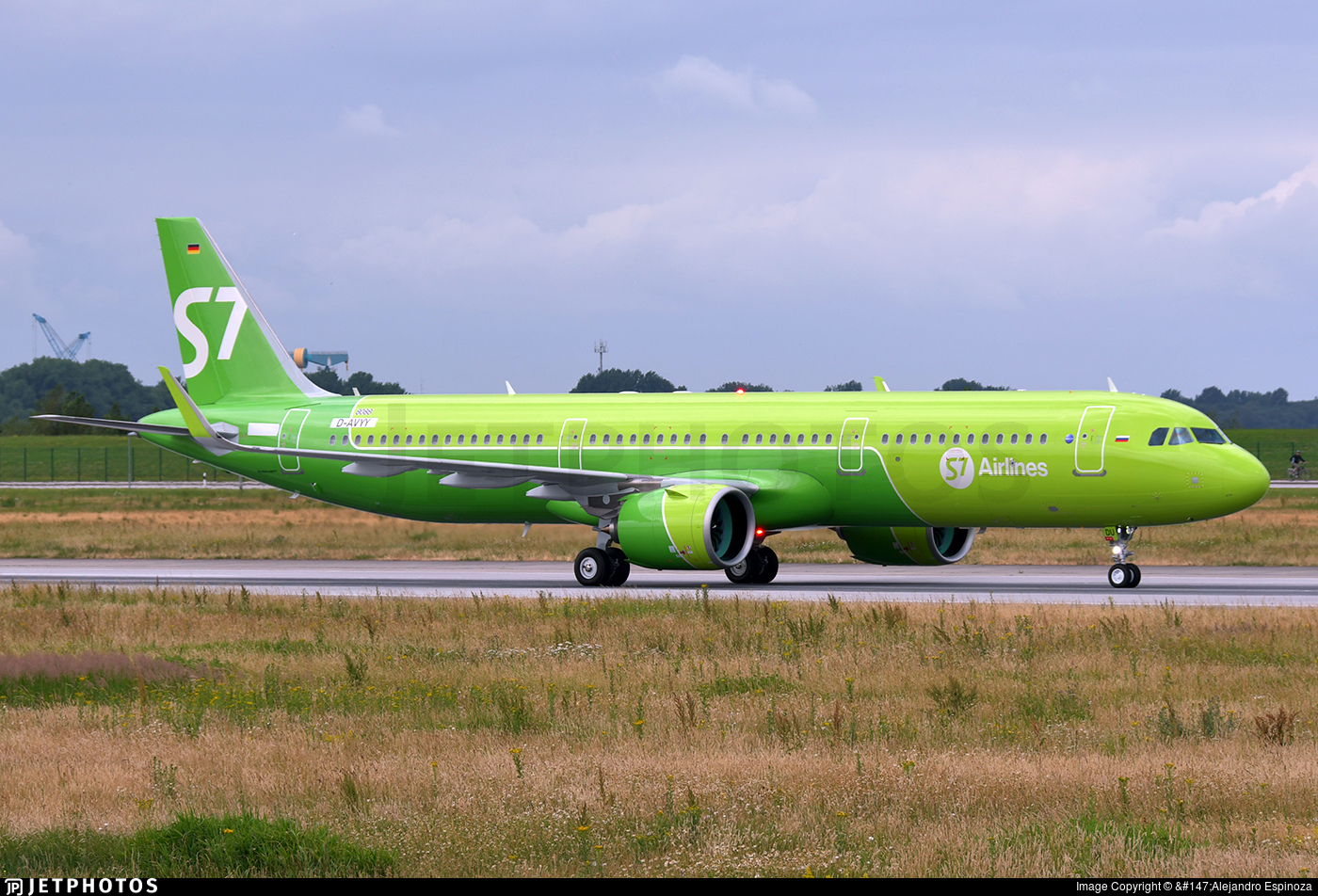 D-AVYY - Airbus A321-271N - S7 Airlines