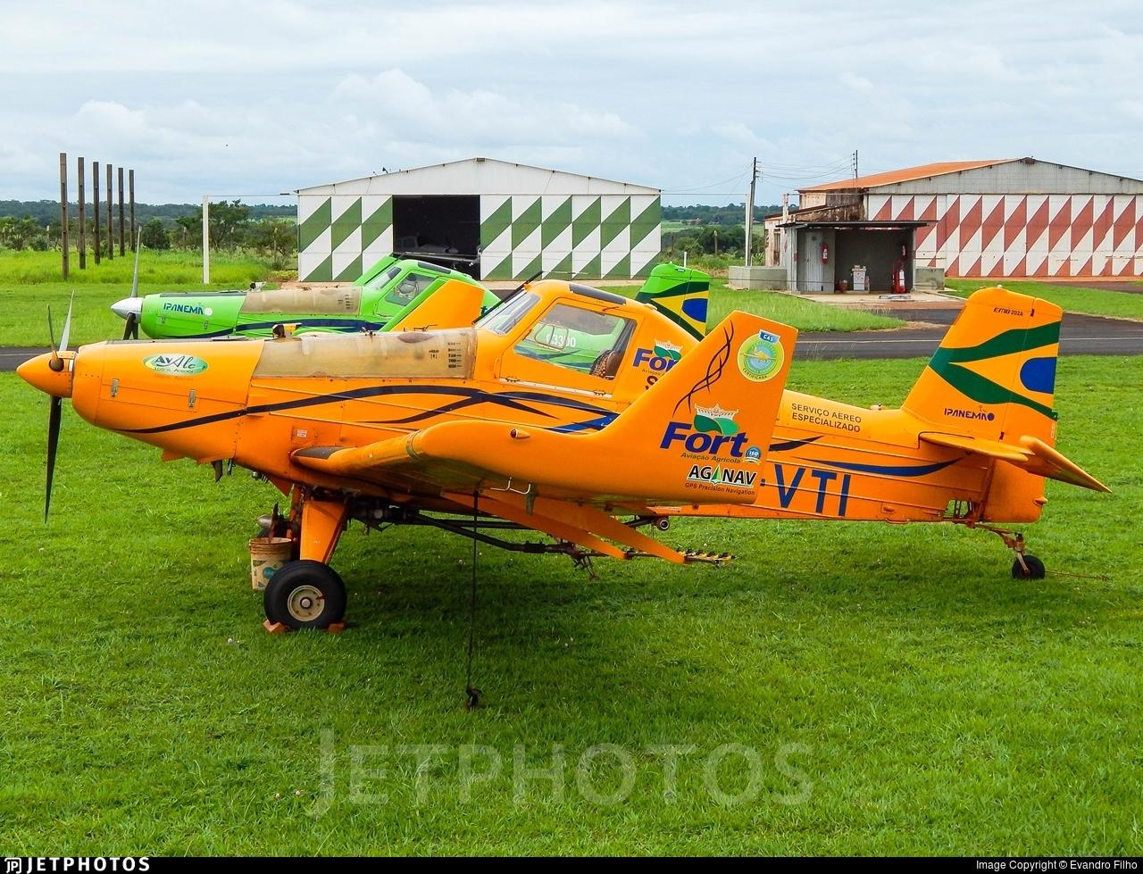 PT-VTI - Embraer EMB-202A Ipanema - Private